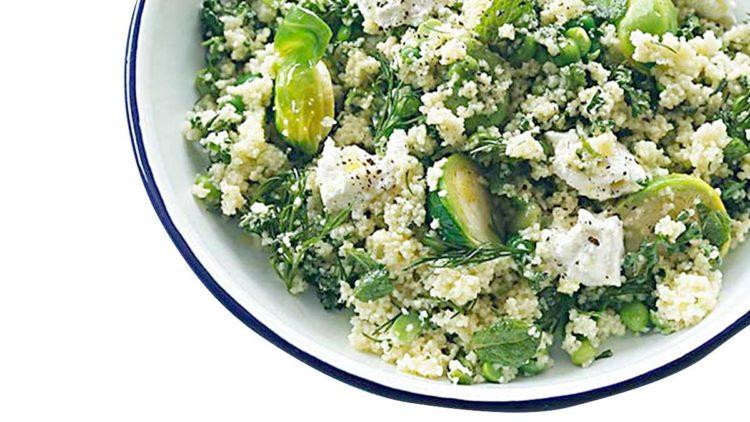 野菜たっぷりグリーンベジタブルのタブレ