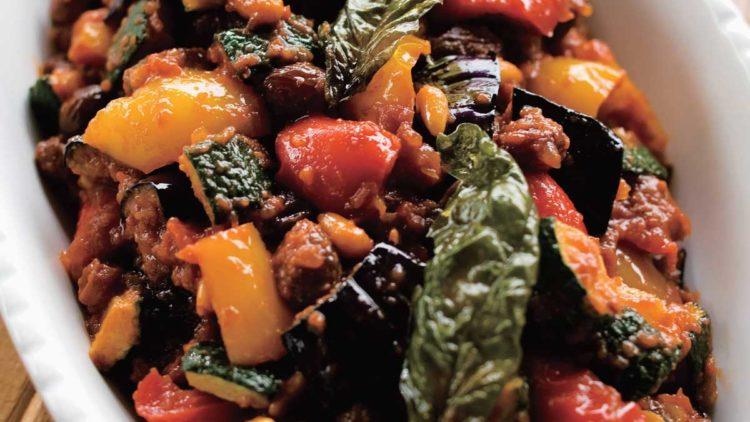 シチリアの味、カポナータ