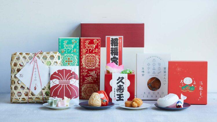 世界の伝統菓子 -日本の縁起菓子