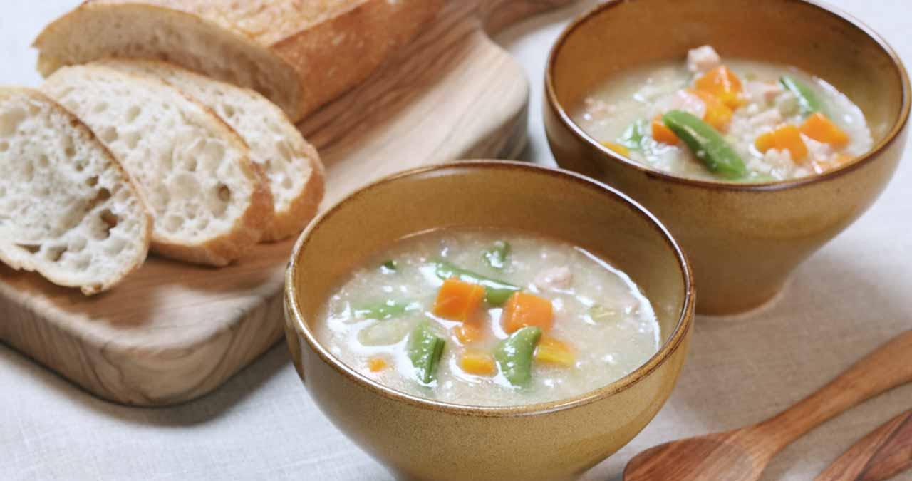 スコッチブロス (大麦と野菜のスープ)
